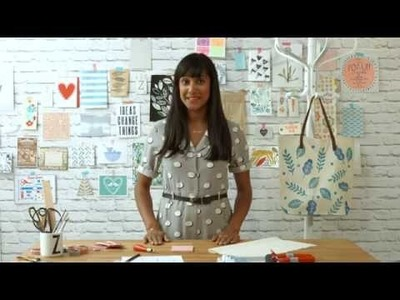 How to Print Fabric: Lino Block Printing