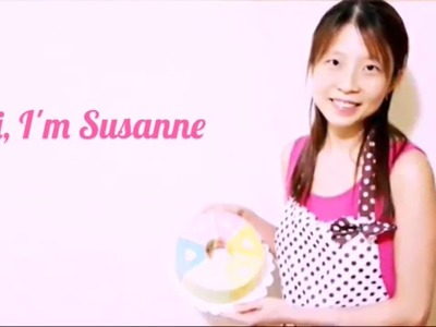 Six-Flavour Rainbow Hearts Chiffon Cake by Susanne Ng