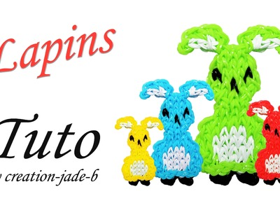 Tuto Rainbow Loom - Lapins de Pâques !