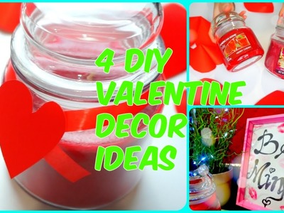 4 DIY Valentine Decor Ideas