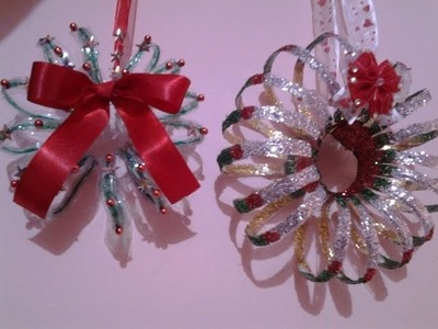 Best Out Of Waste Plastic Christmas decoration ideas