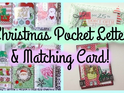 Christmas Pocket Letter & matching Card + Packaging!