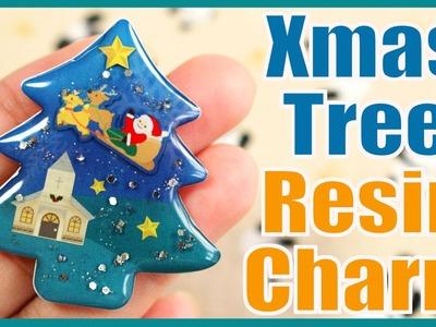Christmas Tree Resin Charm Kit