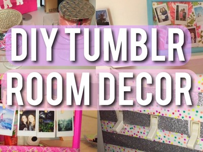DIY Cute and Tumblr Room Decor!!