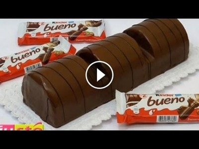 DIY-Giant Kinder Bueno Cake