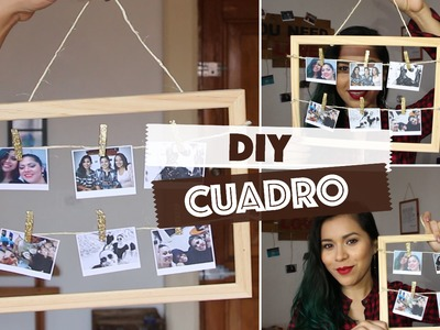 DIY: Marco con fotos - Regalo para San Valentín - Valentine's Day Gifts Ideas  | #ViernesconKarla :)