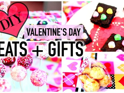 DIY Valentine's Day Treats + Gifts 2016! Cake Pops, Coconut Macaroons and MORE!