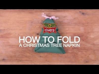 Every Day Wiser: Christmas Tree Napkin