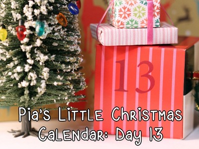 Pia's Little Christmas Calendar: Day 13 (Christmas custom!)