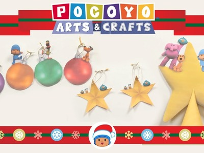 Pocoyo Arts & Crafts: Decorate the Christmas Tree! [EP 6]
