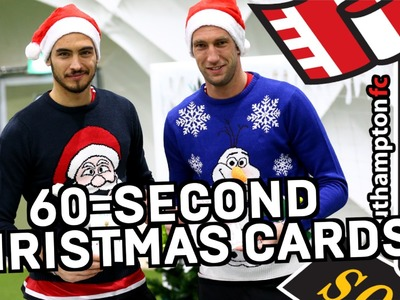 #SaintsXmas | DAY 11: 60-Second Christmas Cards with Gazzaniga & Stekelenburg