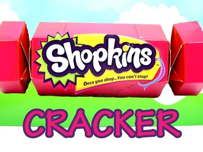 Shopkins Christmas Cracker with Shopkins in Real Life Characters