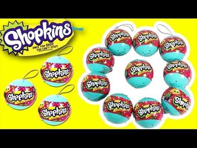 ★Shopkins Ornaments★ Season 3 Shopkins Christmas Ornaments Surprises Sorpresas New Shopkins Toys