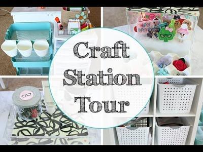 Craft Station Tour