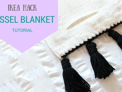 CROCHET: Tassel Blanket | Bella Coco