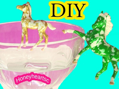Custom Breyer Florentine Do It Yourself Painting Craft Video - Honeyheartsc Horses