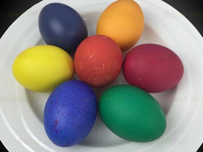 DIY Colouring Vibrant Easter Eggs for Kids