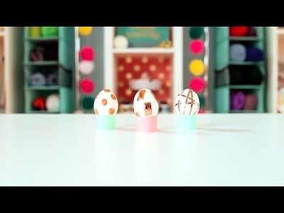 Easter Craft: DIY Foil Easter Eggs