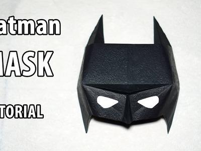 Easy Origami Batman mask tutorial - DIY (Henry Phạm)