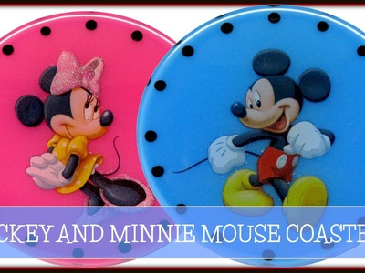 Mickey Mouse Coasters DIY ~ Another Coaster Friday Craft Klatch