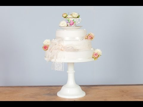 Budget DIY Wedding Cake Ideas