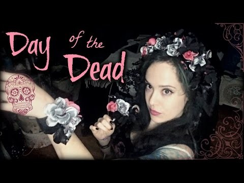 Day of the Dead Flower Headpiece and Accessories | DIY