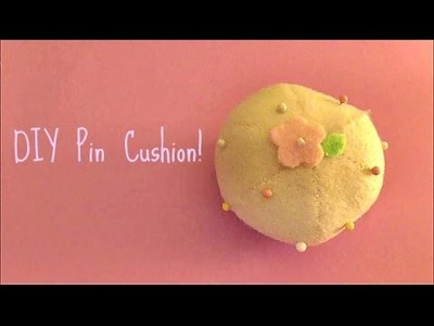 DIY Felt Pin Cushion! ❀