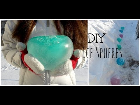 DIY: Ice Lawn Spheres