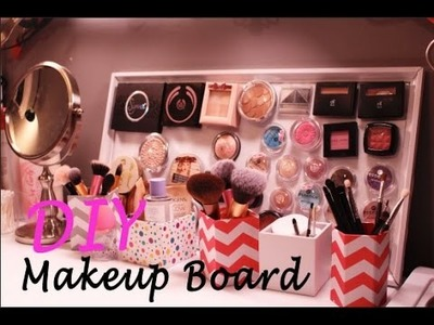 DIY |  Magnetic Makeup Board