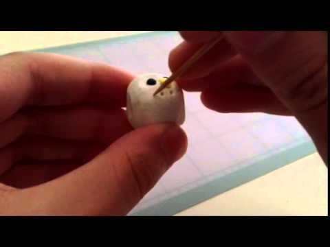 DIY: White Clay Owls