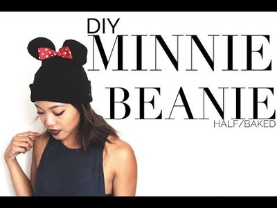 Half Baked | DIY Minnie Mouse Beanie