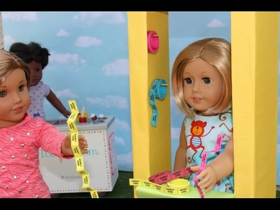 DIY American Girl Ticket Booth Craft