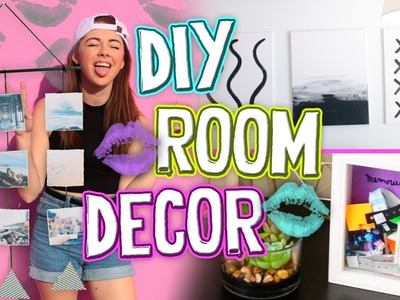 DIY Tumblr Room Decor 2016!! Affordable DIY Ideas You NEED To Try. Jill Cimorelli
