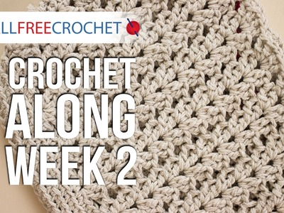 Crochet Along: Week 2 - Sides of the Bag
