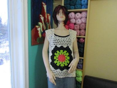 Crochet blusa de verano   con Ruby Stedman