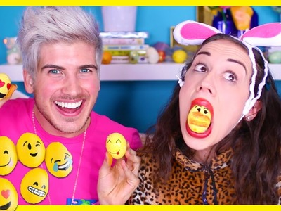 EMOJI EASTER EGG DIY W. MIRANDA SINGS!