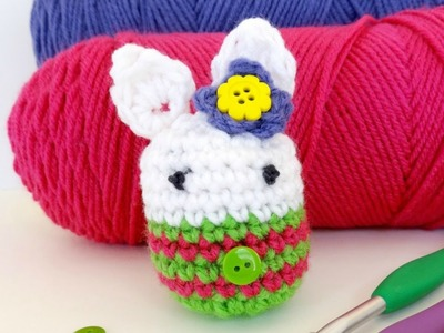How To Crochet Mrs. Bunny Cottontail, Episode 289