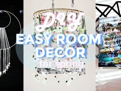 DIY EASY ROOM DECOR FOR SPRING | pacifically