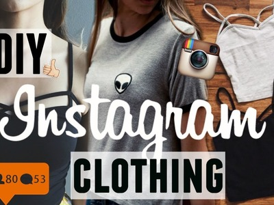 DIY INSTAGRAM CLOTHES !! | Beyondstyle&fashion