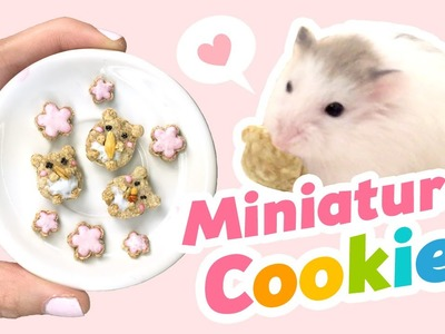 DIY Miniature EDIBLE Cookies for Hamsters!! Cute ASMR Video