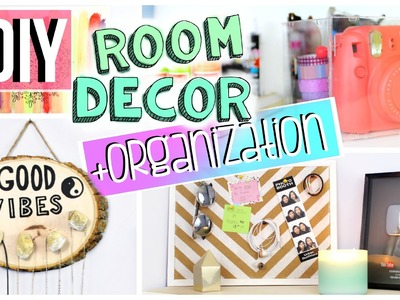 DIY Room Organization + Decor | Room storage ideas | JENerationDIY