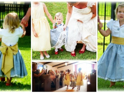 Flower Girl Dress - How to DIY