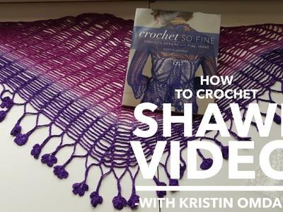 How to Crochet Sprout Chain Shawlette