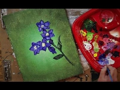 "How to Paint FORGET-ME-NOT Flowers - Lesson #6 of ""How to Paint Flowers"" (Series)"
