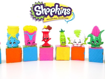 SHOPKINS Checkers * DIY Shopkins Game * How to use your Shopkins DCTC