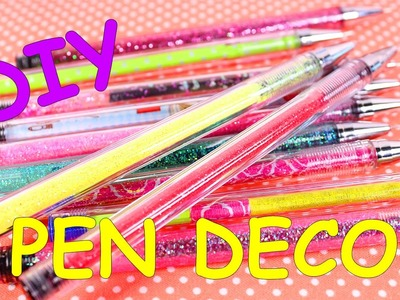 3 DIY Kawaii Pen Decorations