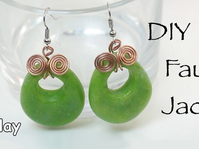 DIY Faux Jade - Polymer clay tutorial