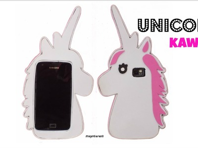 DIY: How to make a kawaii unicorn PHONE CASE
