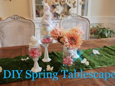 DIY on the FLY Spring Tablescape