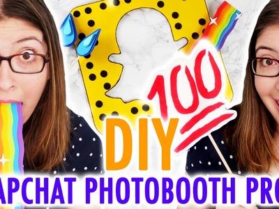 DIY Snapchat-Inspired Photobooth Props - HGTV Handmade